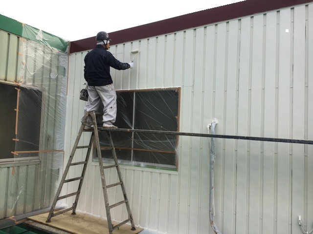 工場外装・内装塗装工事