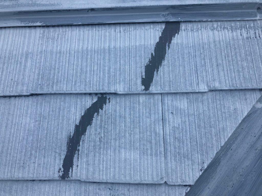 屋根 瓦ひび割れ シーリング補修