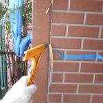 仕上げ材(ファインパーフェクトトップ)2回塗布後、仕上がりです。