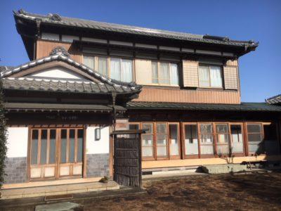 古き良き「日本家屋」木部アク洗い