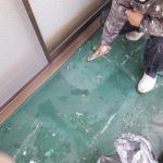 床面防水 仕上がり②
