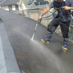 霧除け屋根 仕上がり