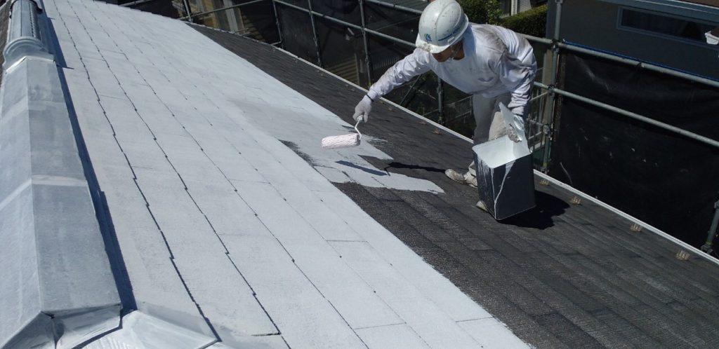 屋根 下塗り材塗装