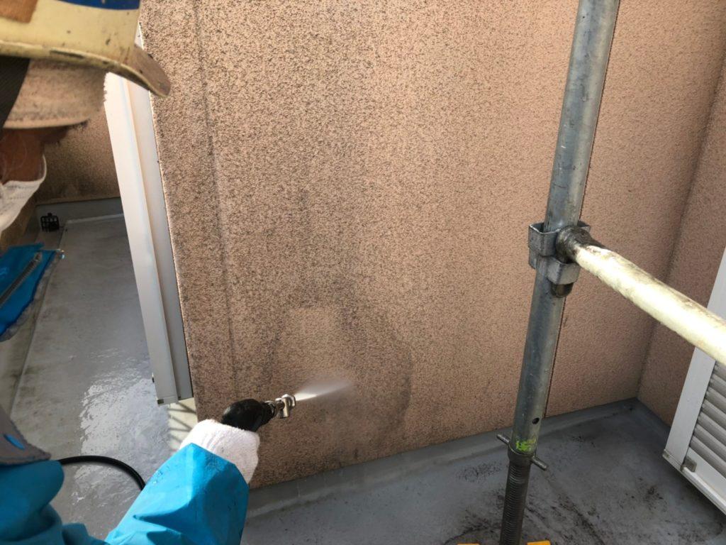 外壁部高圧洗浄