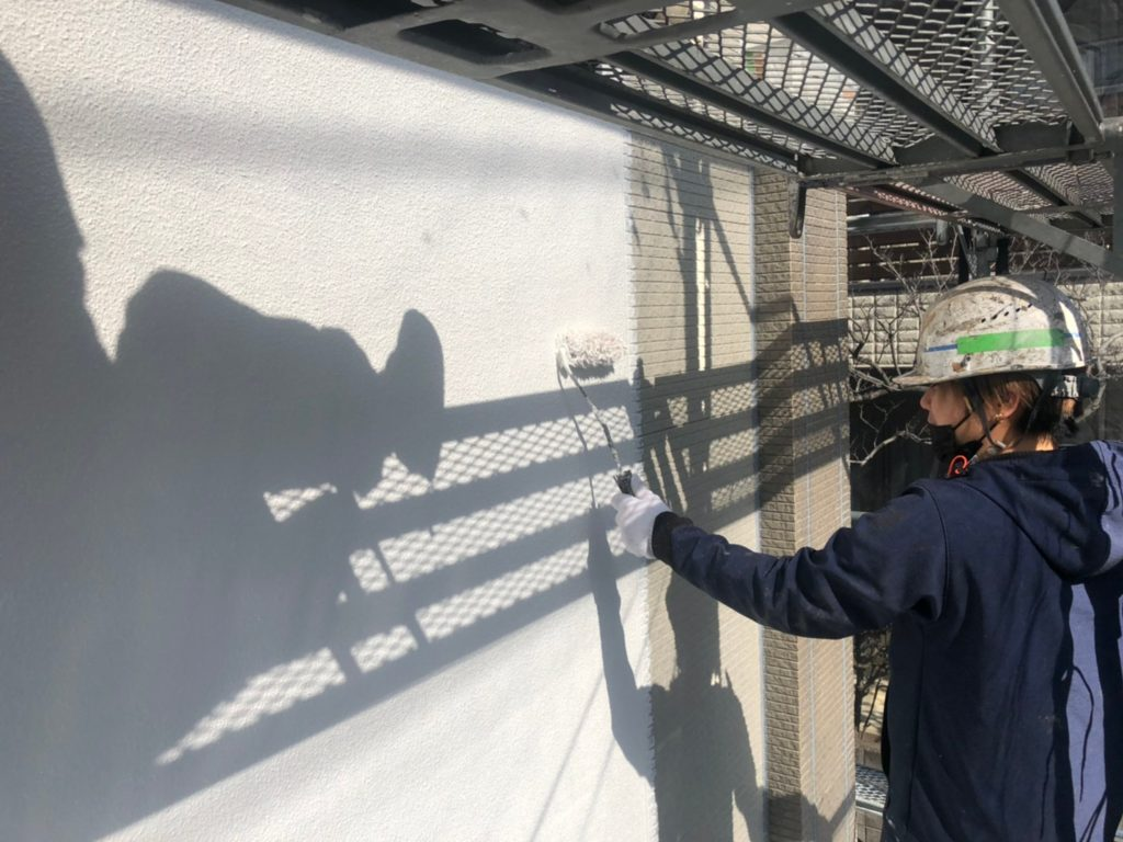外壁部塗り替え