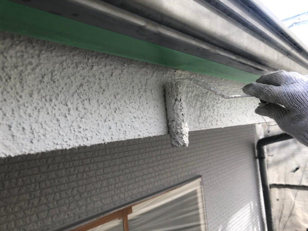 外壁破風部分塗り替え