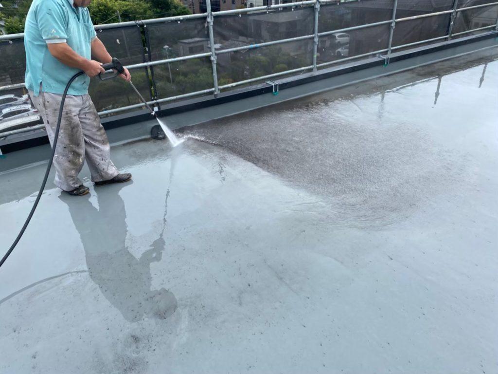 高圧洗浄 屋上